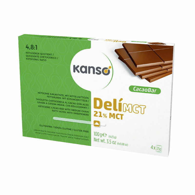 Kanso Deli Mct Cacao Bar 100g